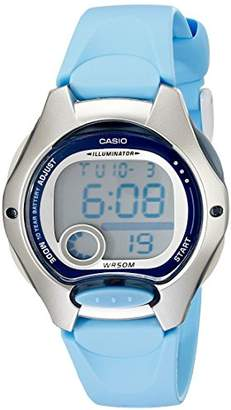 Casio Women's LW200-2BV Digital Resin Strap Watch
