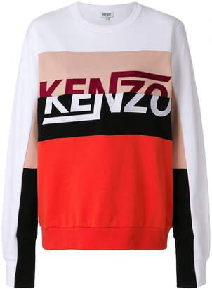 Kenzo broken logo sweatshirt