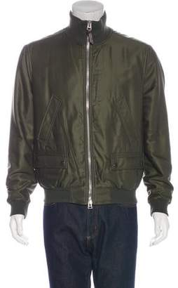 Tom Ford Woven Bomber Jacket