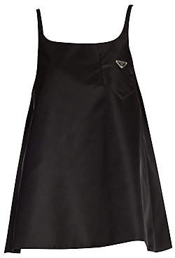 Prada Women's Gabardine Babydoll Dress