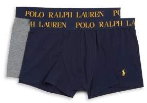 Polo Ralph Lauren Two-Pack Logo Boxer Shorts Set