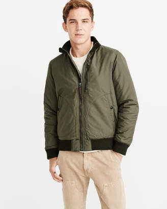 Abercrombie & Fitch Deck Bomber Jacket