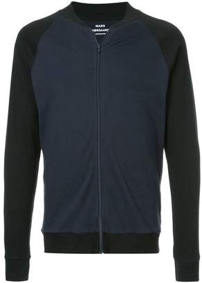 Mads Norgaard contrast zipped jacket