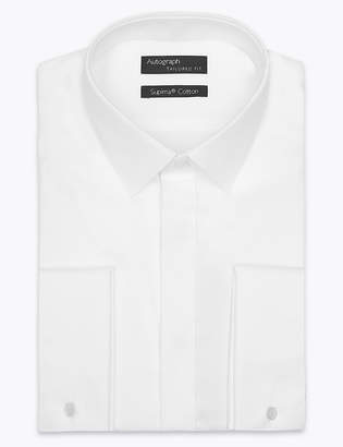 Marks and Spencer Supima Cotton Tailored Fit Dinner Shirt