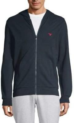 Emporio Armani Logo Hooded Jacket
