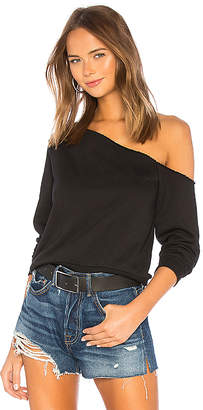 by the way. Rebecca Off Shoulder Sweatshirt