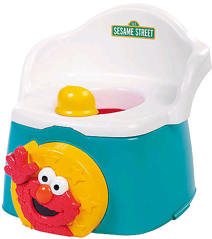 Kolcraft 1-2-3 Learn With Me Potty Chair - Sesame Street