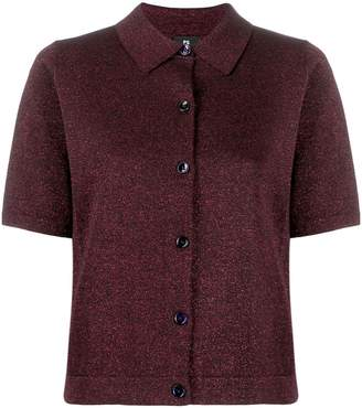 Paul Smith knitted shimmer shirt