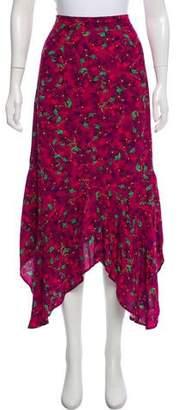 Sam&lavi Sam & Lavi Floral Print A-line Skirt