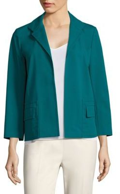 Lafayette 148 New York Benny Open-Front Jacket $548 thestylecure.com