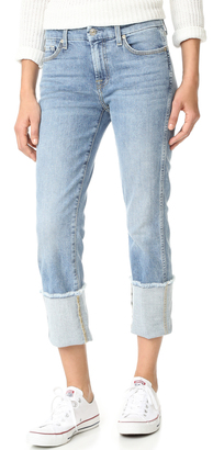 7 For All Mankind Fashion Boyfriend Jeans $199 thestylecure.com