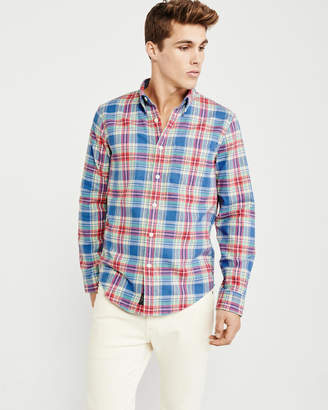 Abercrombie & Fitch Spring Flannel Shirt