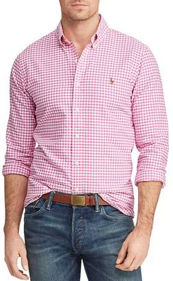 Polo Ralph Lauren Patterned Classic Fit Button-Down Oxford Shirt