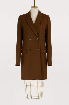 Etoile Isabel Marant Iken virgin wool coat