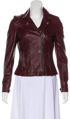 Andrew Marc Leather Moto Jacket w/ Tags