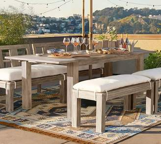 Pottery Barn Indio Extending Dining Table