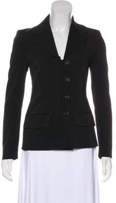 Prada Lightweight Button-Up Blazer
