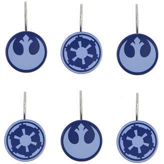 Star Wars Star WarsTM Classic Shower Curtain Hooks