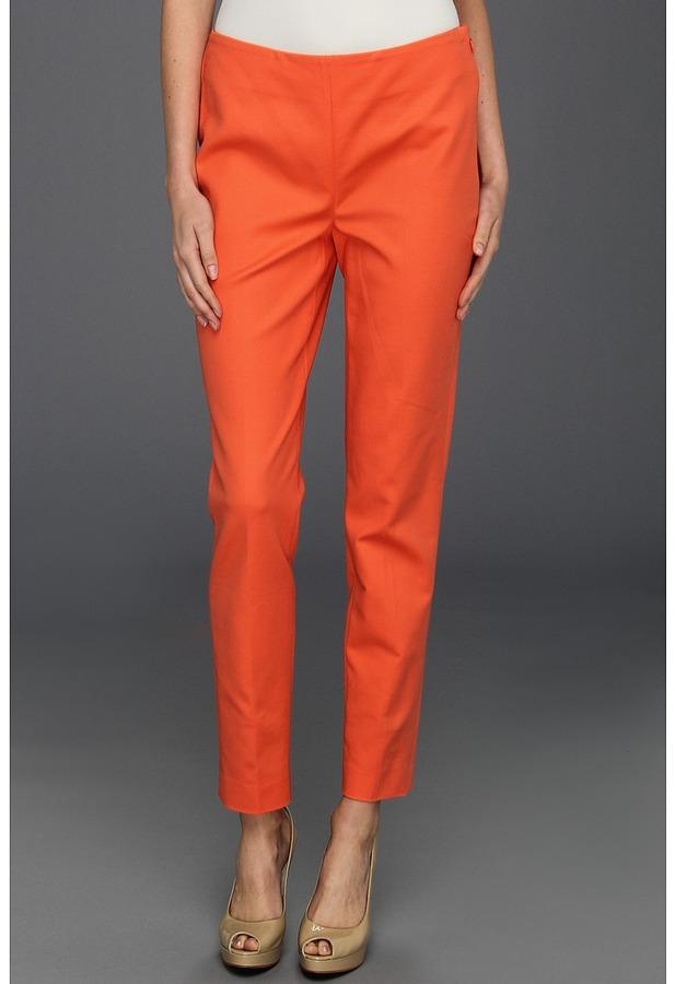 Vince Camuto Side Zip Skinny Pant (Papaya) - Apparel