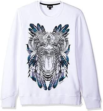 Just Cavalli Men's Graphic Sweatshirt