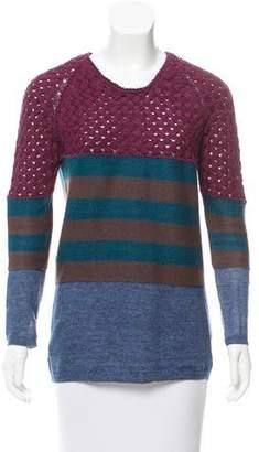 Burberry Striped Oversize Sweater