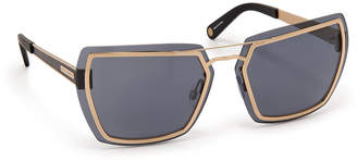 Henri Bendel Quincy Square Sunglasses
