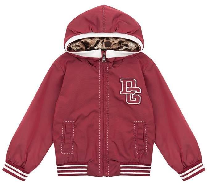 Hooded Bomber Jacket