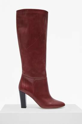 French Connenction Francesca Knee High Leather Boots
