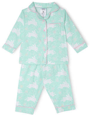 Sprout NEW Girls Flannelette Set Mint