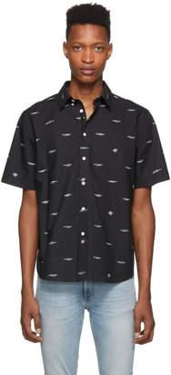 Rag & Bone Black Smith Short Sleeve Shirt