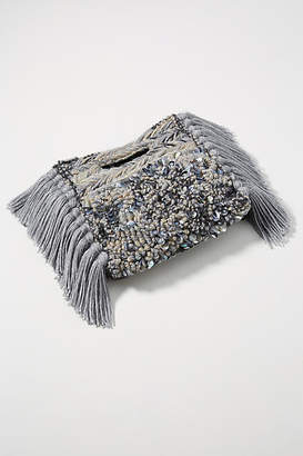 Anthropologie Milo Embellished Clutch