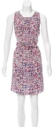Yigal Azrouel Cut25 by Printed Sleeveless Dress