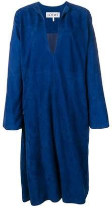 Loewe plunge neck dress