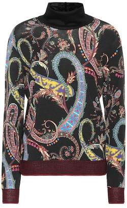 Etro Wool-blend turtleneck sweater