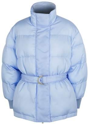 Stella McCartney Cornflower Blue Shell Jacket