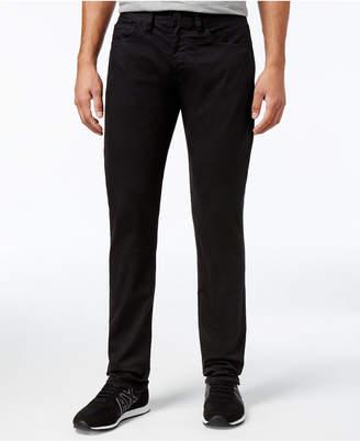 Armani Exchange Men's Five-Pocket Straight-Fit Stretch Jeans