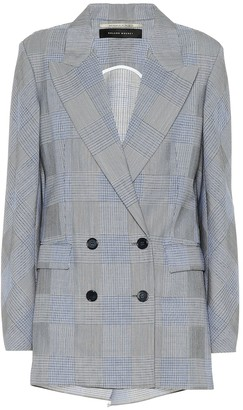 Roland Mouret Bourne wool and mohair blazer