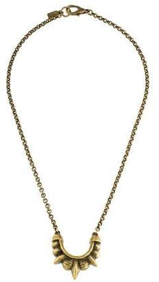 Pamela Love Small Tribal Spike Pendant Necklace