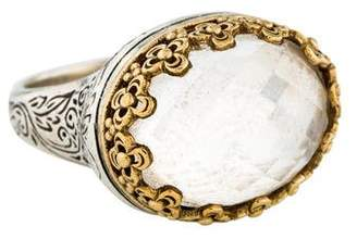 Konstantino East West Oval Quartz Ring