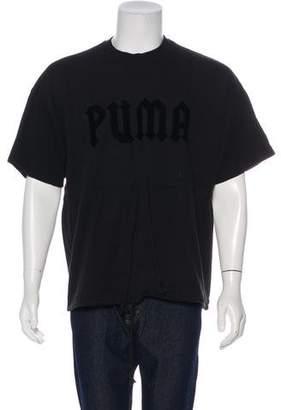 FENTY PUMA by Rihanna Woven Logo Shirt
