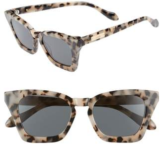 Sonix Ginza 50mm Cat Eye Sunglasses