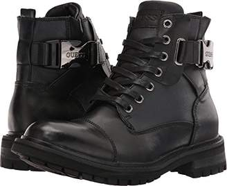 GUESS Men's RAND Combat Boot 11.5 Medium US