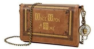 Disney Once Upon A Time Book Cover Crossbody Handbag