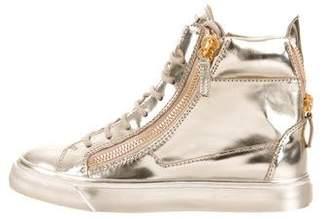 Giuseppe Zanotti London Mirror Sneakers w/ Tags