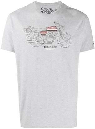 MC2 Saint Barth motor print T-shirt
