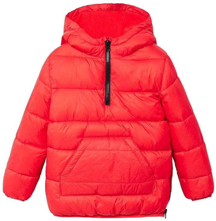 Boys Hooded Padded Jacket