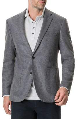 Rodd & Gunn Men's Brooklyn Two-Button Knit Blazer Jacket