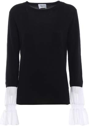 Dondup Georgette Cuff Merino And Cashmere Sweater