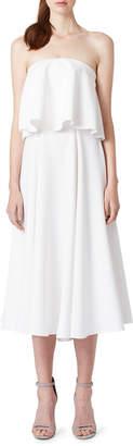 Angel Shape Strapless Dress