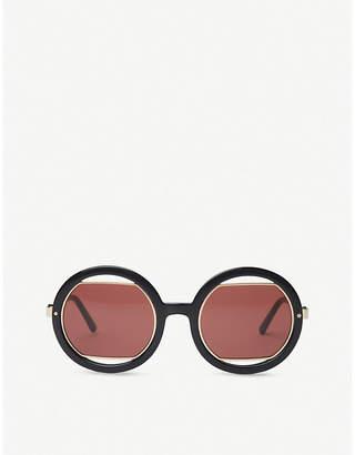 Marni ME623S round-frame acetate sunglasses
